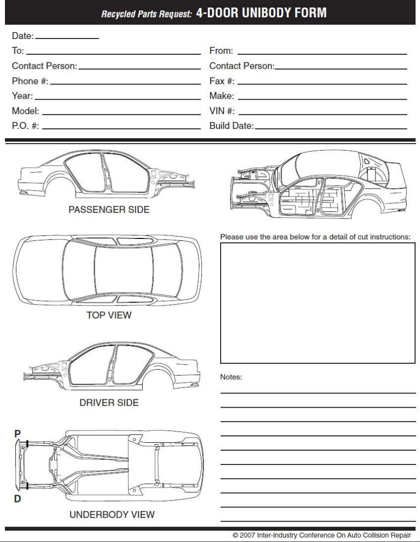 auto detailing forms pdf